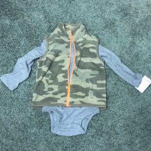 Vest and onesie